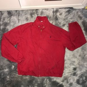 polo by ralph Lauren bomber Jacket Size Large